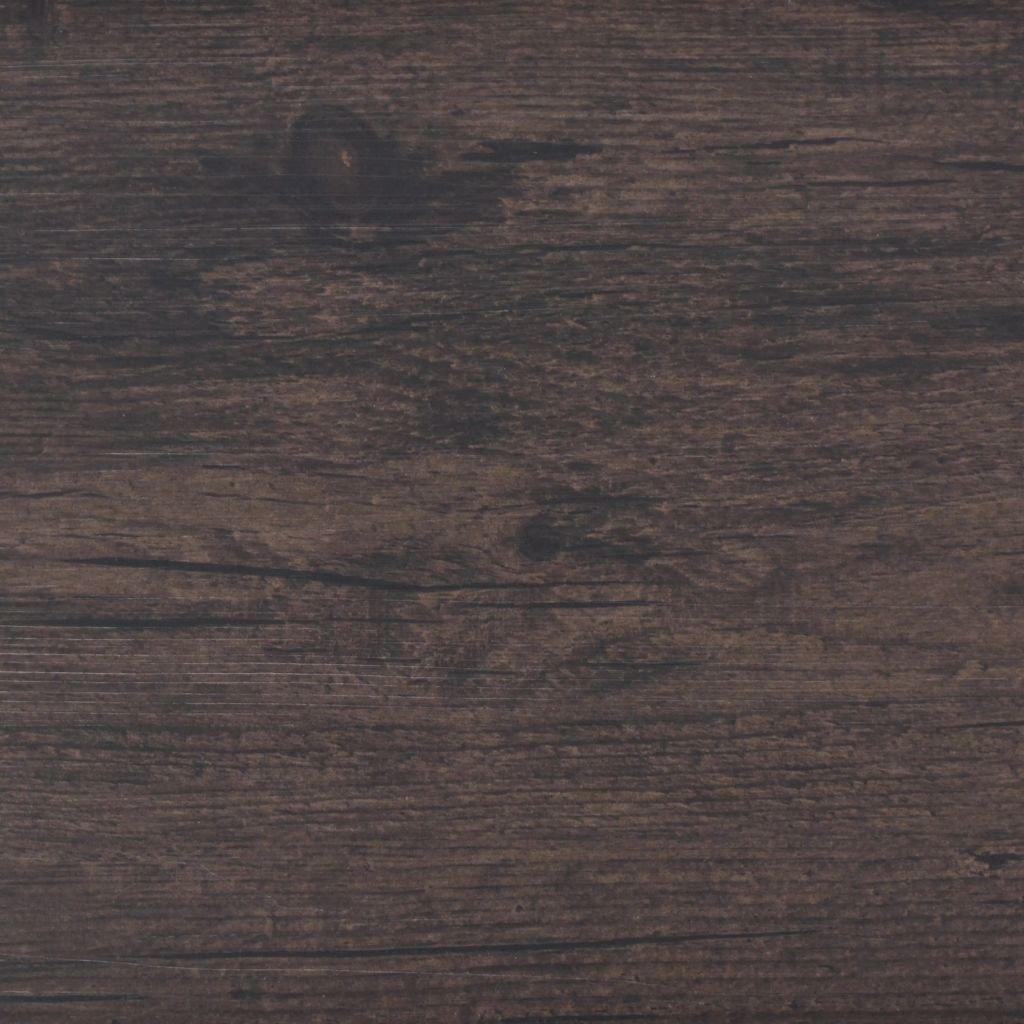 Lamas para Suelo de PVC Roble Gris Oscuro 5,26 m/² Festnight