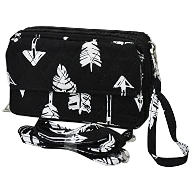9a64cb4bb52f Amazon.com  Arrow Black NGIL All in One Wallet  Clothing