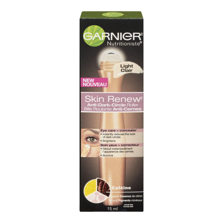 Garnier Nutritioniste Skin Renew Anti-Dark Circle Eye Roller, 15ml