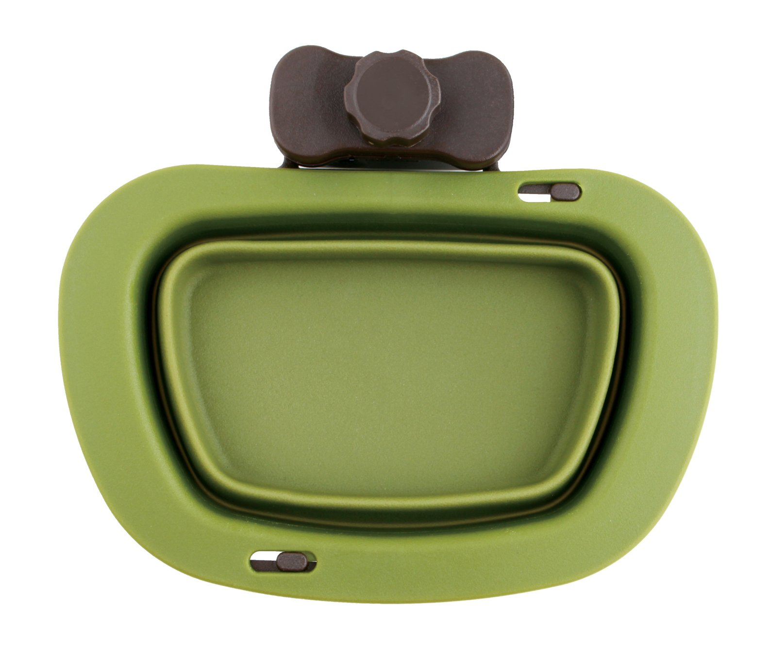 Dexas Popware for Pets Pivot Collapsible Kennel Cup, Large, Green by Dexas
