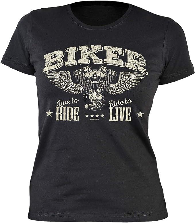 Frauen für motorrad sprüche Biker
