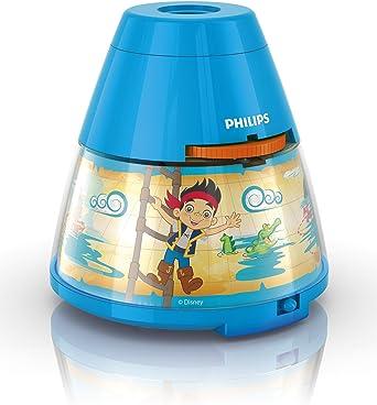 Philips Proyector y luz Nocturna 2 en 1 71769/05/16, 0.1 W, Azul ...