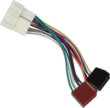 Aerzetix Iso Konverter Adapter Kabel Radioadapter Radio Stecker Iso Kabel Verbindungskabel Für Amerikanische Autos C40113 Auto