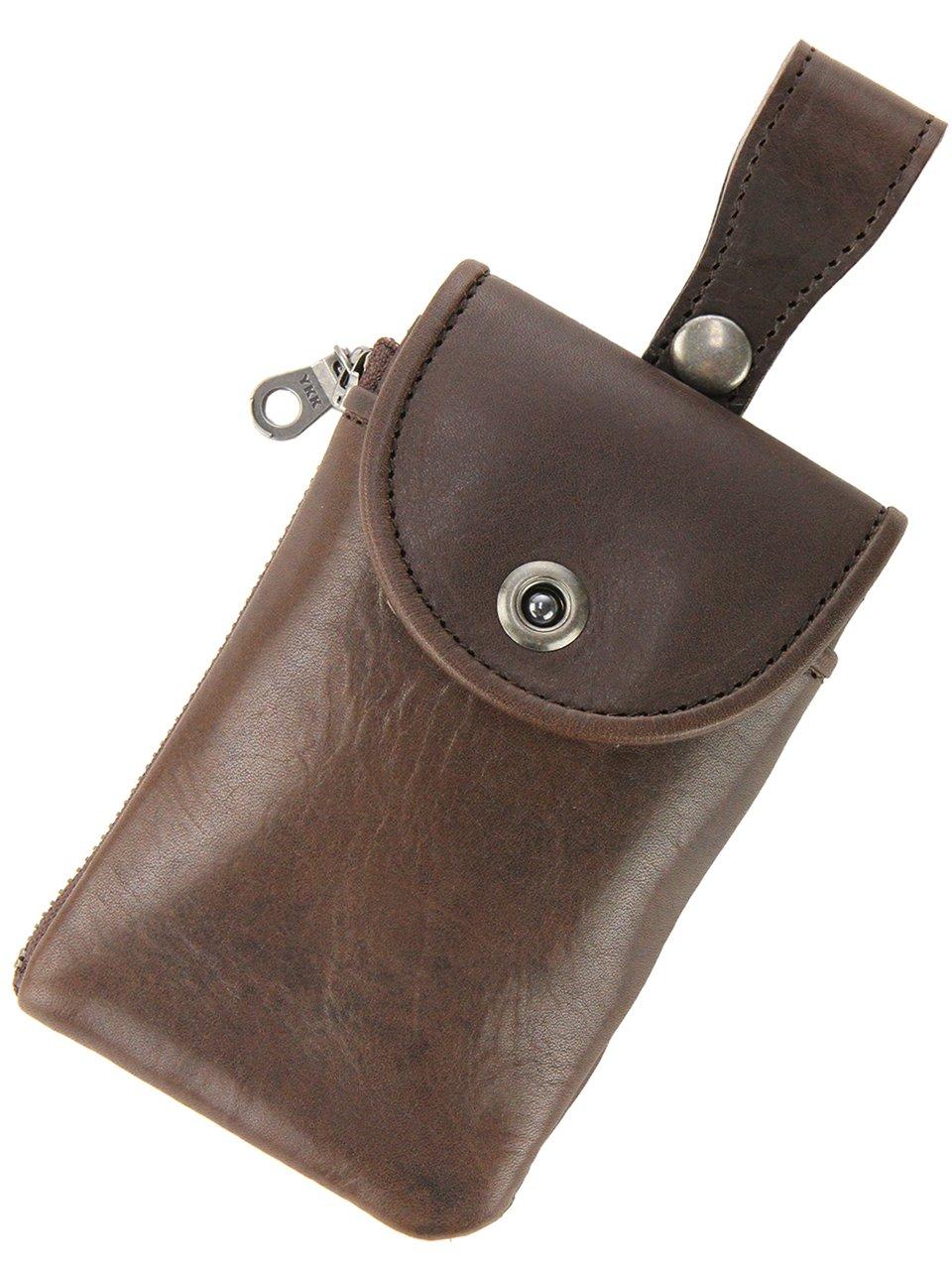 [バギーポート] BAGGY PORT オイルバケッタ スマートフォンケース iPhoneケース BP-DHAM-900 B01GRF5678 ブラウン ブラウン