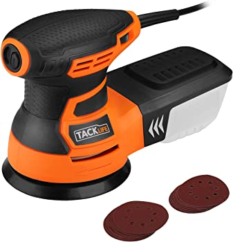 Tacklife 6 Variable Speed 2.8A 350W / 13000 OPM Orbital Sander