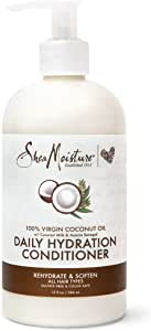 SHEA MOISTURE Virgin Coconut Oil Daily Hydration Conditioner, 384 ml, 13 Ounce (U-HC-12198)
