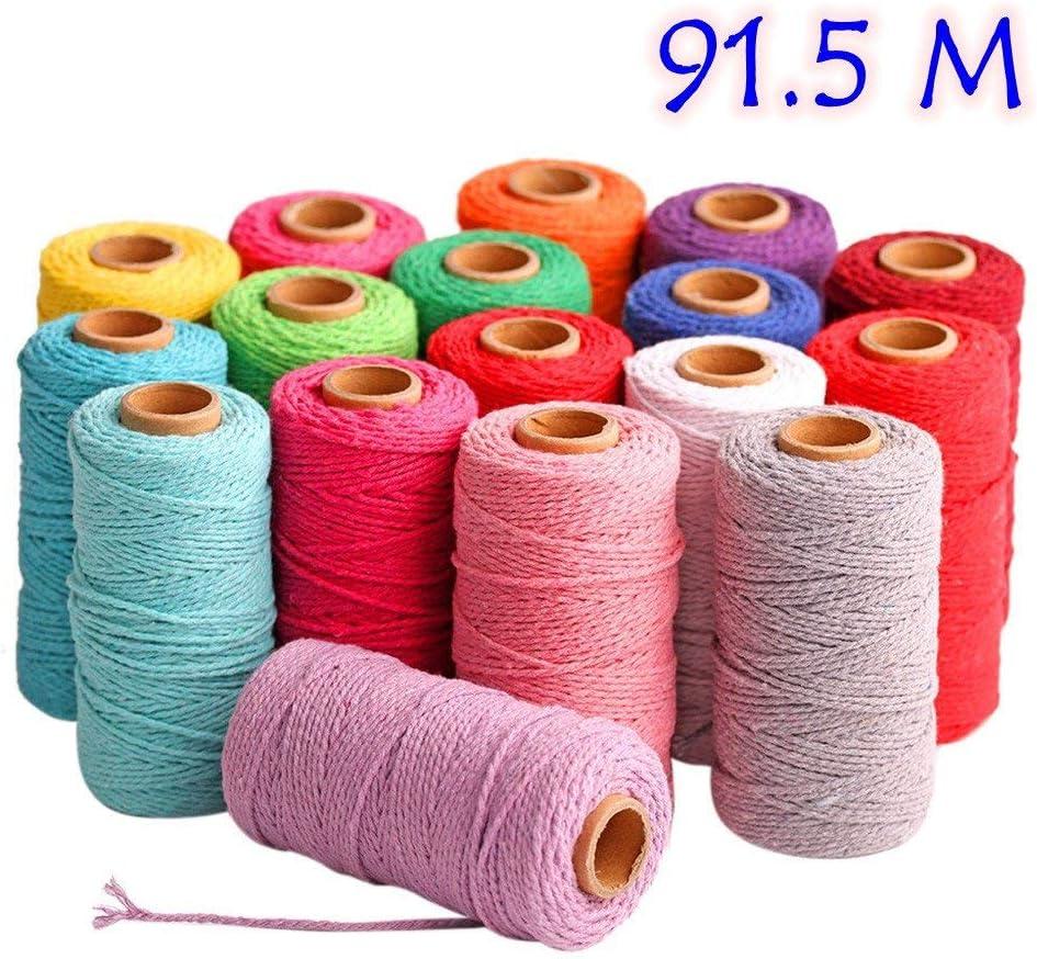 100 m de largo/100 Verges cordón Trenzado en algodón Puro ...