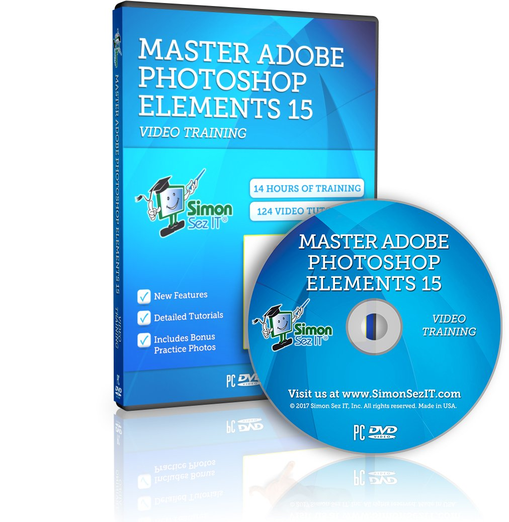 Photoshop Elements 15 Training Course for Beginners: Essential Training by Simon Sez IT