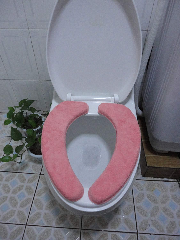 Toilet Cushion Toilet Cushion The Bathroom Toilet Mat Mat Three Piece Bathroom Mat,B