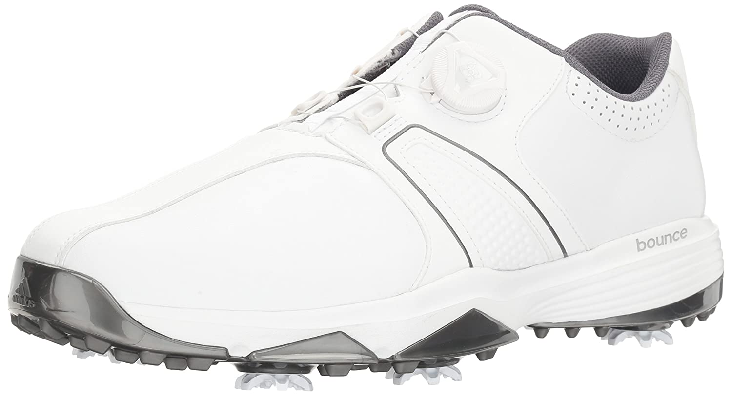 Calma lechuga paquete  Adidas Men's 360 Traxion Boa Golf Shoe, White, 7.5 W US: Buy Online at Low  Prices in India - Amazon.in