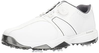 meet c4186 9df32 adidas Mens 360 Traxion Boa Golf Shoe, White, ...