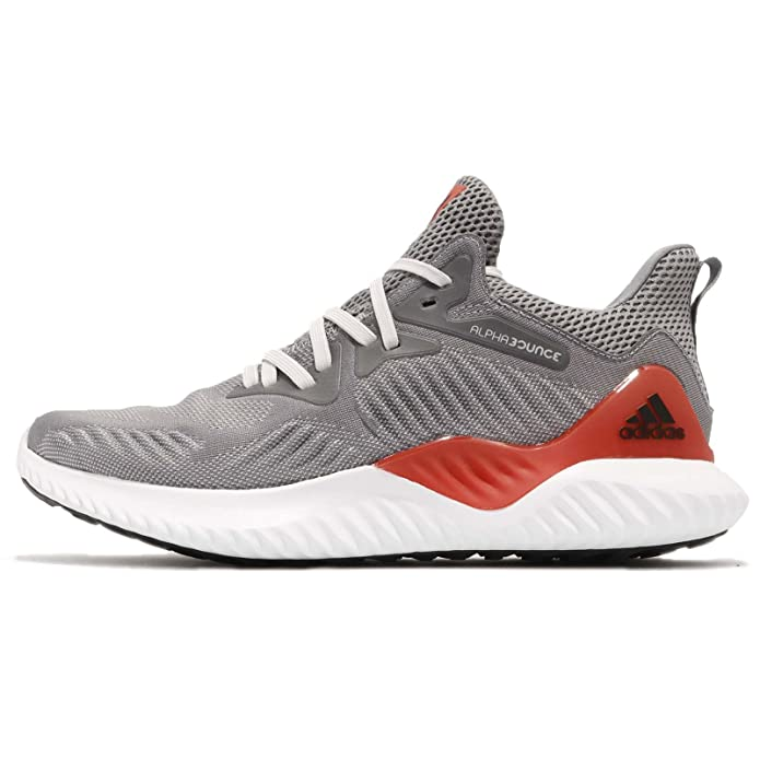 9ec968170 adidas Men's Alphabounce Beyond M, Grey Three/Grey Three/CORE RED:  Amazon.co.uk: Shoes & Bags