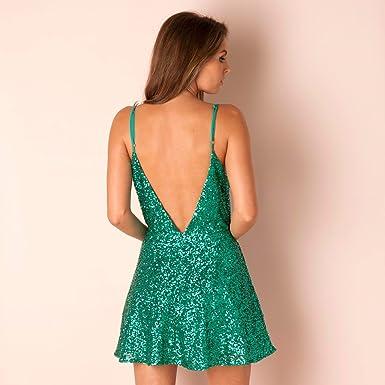 55c38575 Glamorous Womens Womens Sequin Dress in Teal - 8: Glamorous: Amazon.co.uk:  Clothing