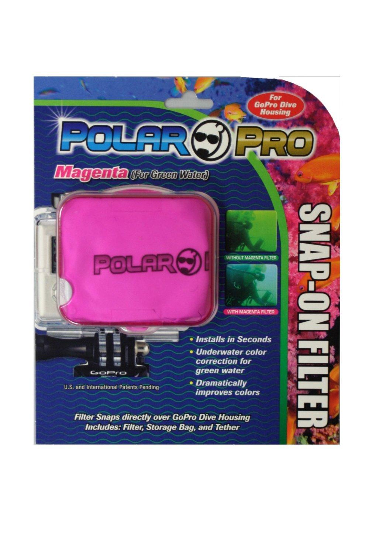 Magenta Filter-Green Water Color Correction- Hero 1 & 2 Dive Housing ...