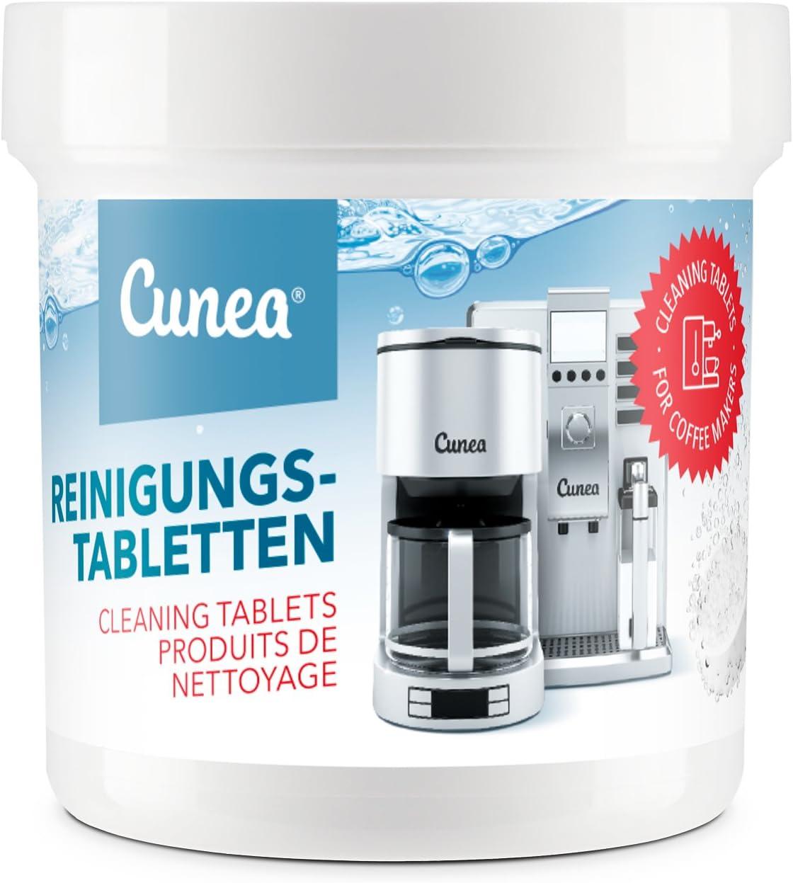 Cunea - Pastillas de limpieza para cafeteras automáticas y ...
