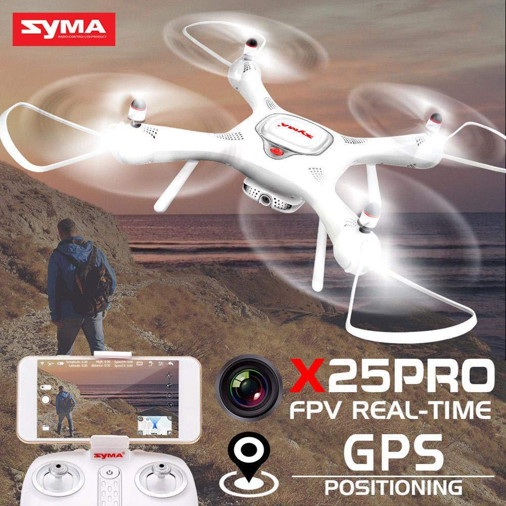 Zantec X25PRO RC Quadcopter Drone 720P WIFI HD Camera GPS Real-time Remote Control Aircraft Toys Gift