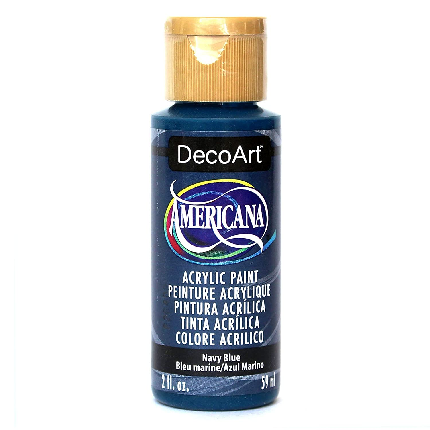 Deco Art Americana 2 oz Acrylic Multi-Purpose Paint, Navy Blue DecoArt DAO35-3