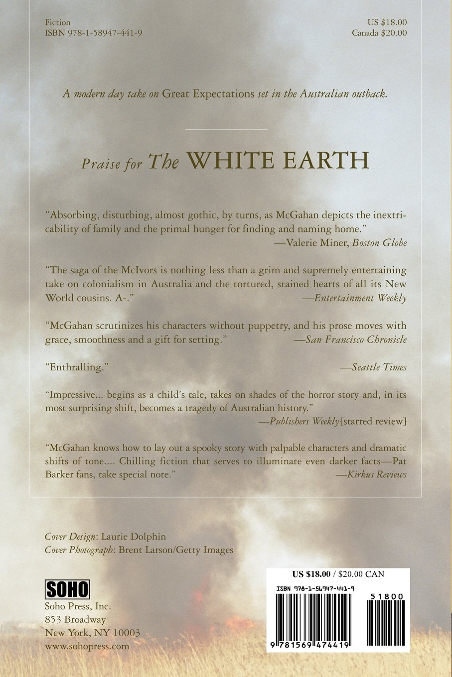 white earth andrew mcgahan com books