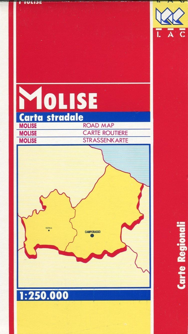 Download Molise (Italy) 1:250,000 Regional Touring Map LAC pdf