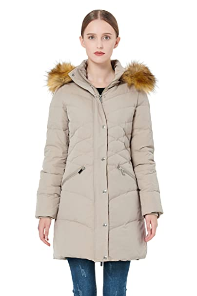 ae20a8f43 Orolay Women's Thickened Down Jacket Puffer Coat with Hood