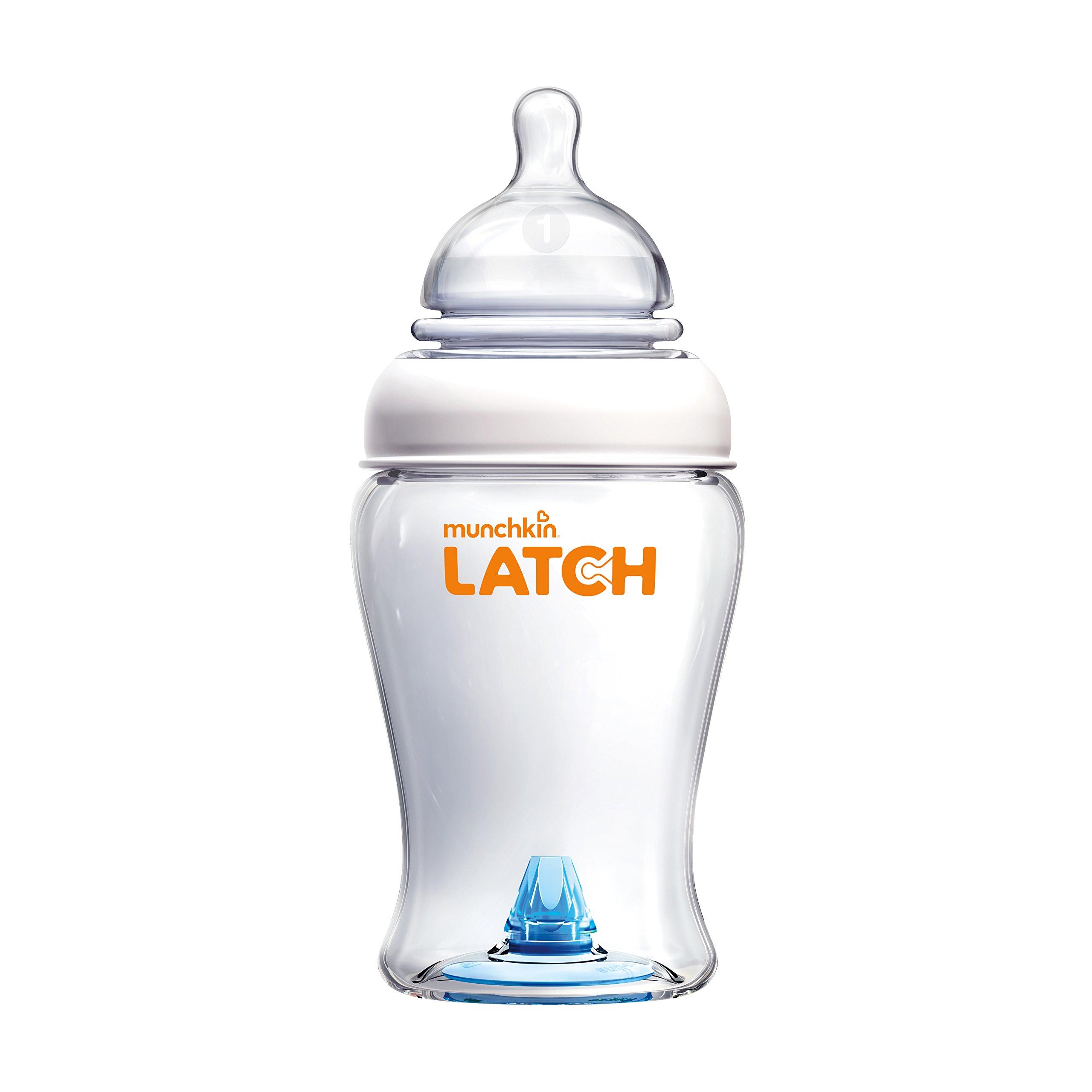 Munchkin Latch BPA-Free Baby Bottle, 8 Ounce, 1 Pack