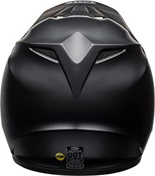Amazon.com: Bell MX-9 MIPS Equipped Motorcycle Helmet (Solid Matte Black, X-Large): Automotive