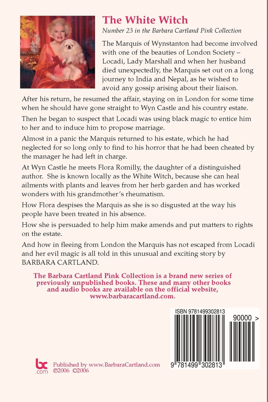 The White Witch The Pink Collection Volume Barbara - 23 of the strangest books to ever appear on amazon