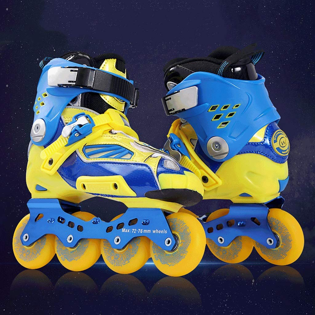 Amazon.com: Indoor Inline Roller Skates for Ladies and Male Youth,Adult Beginner Womens Rollerblades Blue Color (Color : Blue, Size : 40 EU): Home & ...