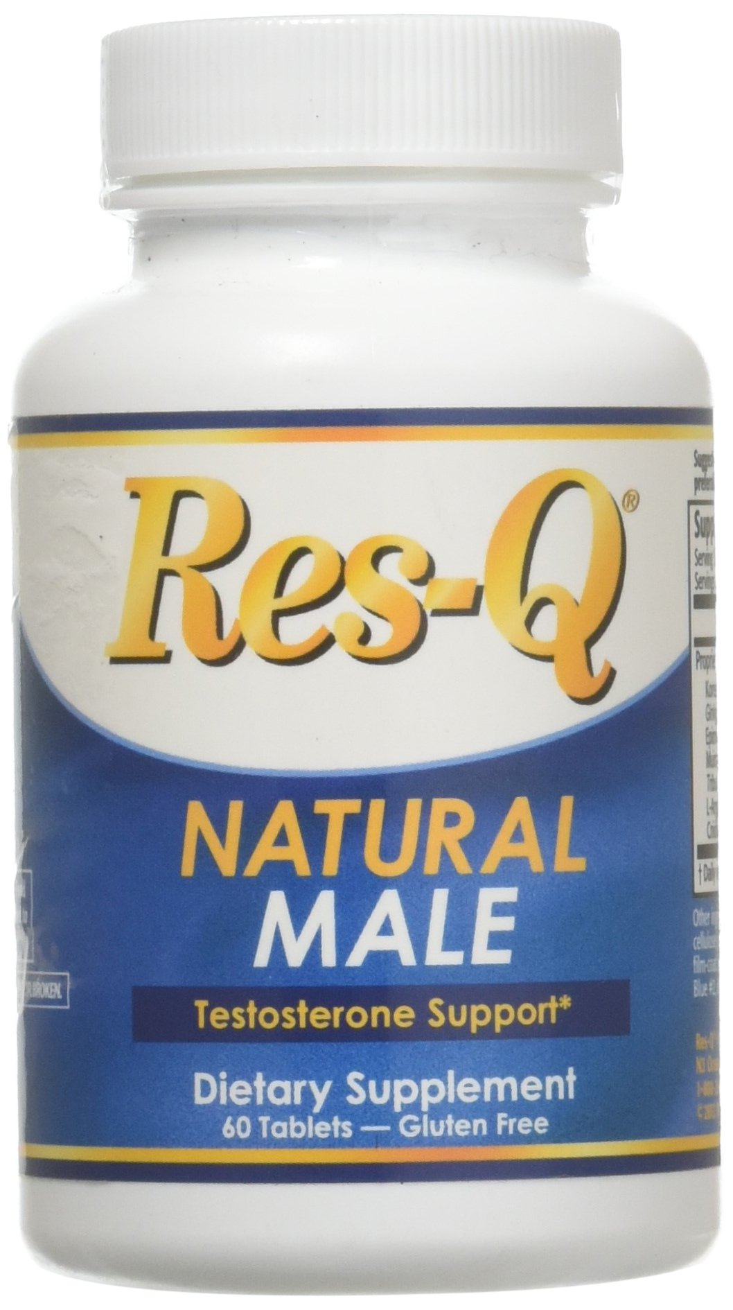Res q 1250 omega 3 fish oil 200 capsules for Fish oil testosterone