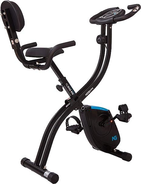 Neogym Bicicleta Ultra-Plegable con Respaldo Plibike 410: Amazon ...