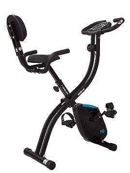 Neogym Bicicleta Ultra-Plegable con Respaldo Plibike 410