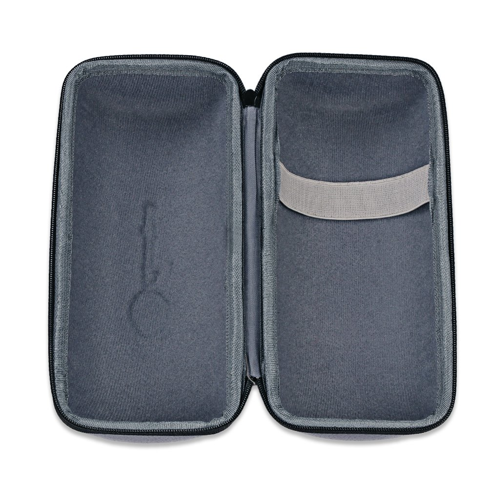Bose SoundLink Revolve+ Plus Wireless Bluetooth Speaker Portable Hard Carrying Case Travel Bag (Black) by Esimen (Image #4)