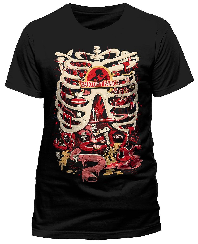 Amazon.com: RICK AND MORTY \'Anatomy Park\' T-Shirt: Clothing