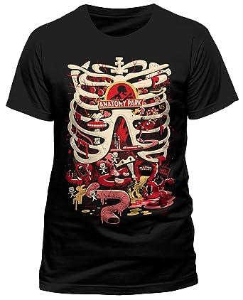 Rick and Morty \'Anatomy Park\' T-Shirt: Amazon.co.uk: Clothing
