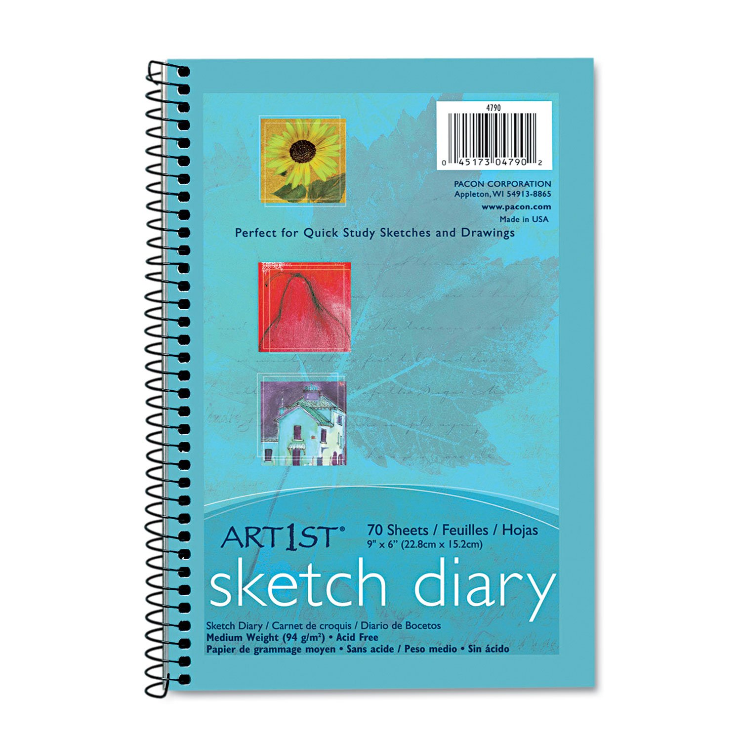 Amazon.com: Pacon Artist Sketch and Drawing Diaries (Pacon), 9\