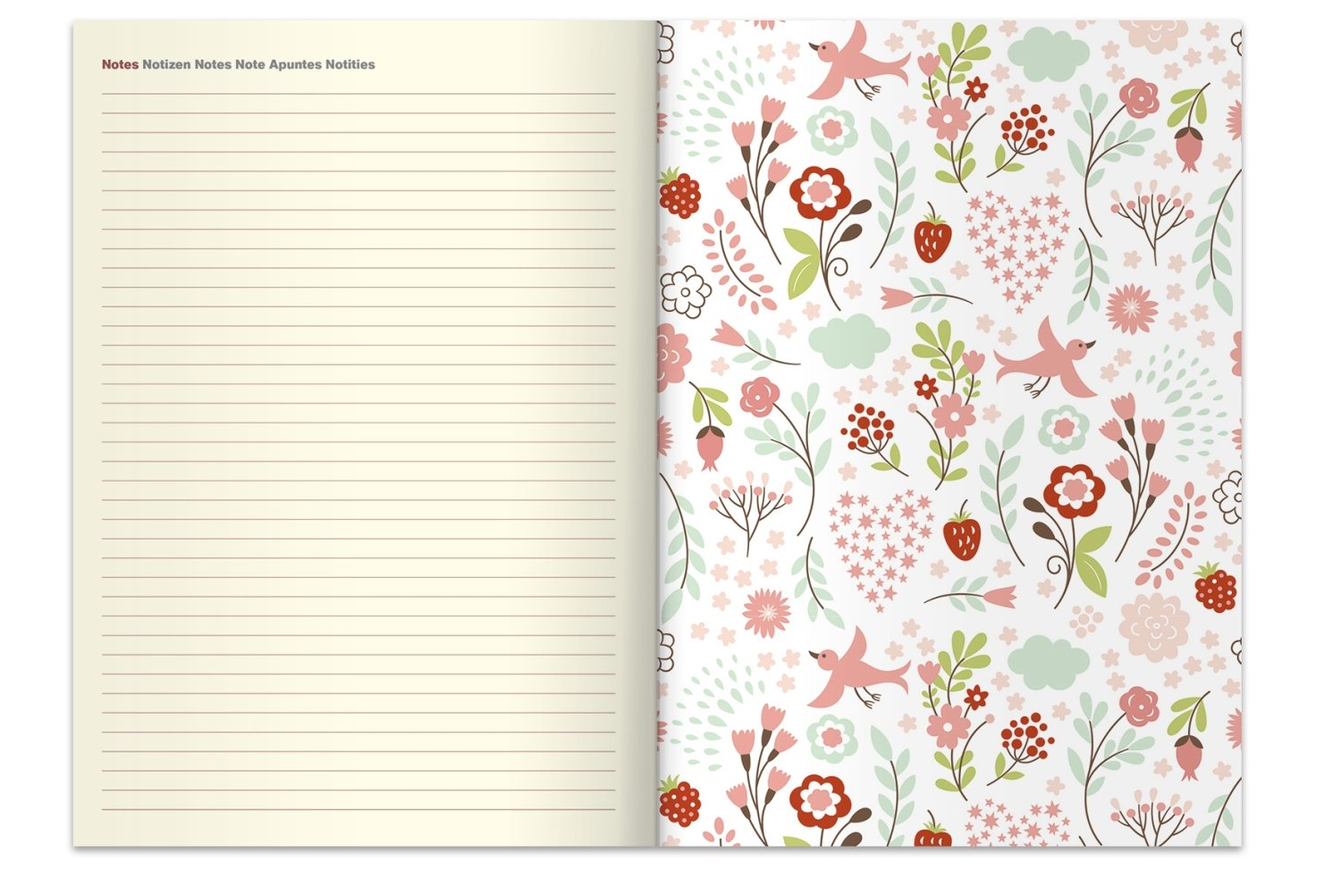 2018 Tropical Diary - teNeues Large Magneto Diary - Illustrations - 16 x 22  cm: Amazon.co.uk: teNeues Calendars & Stationery: 4002725955036: Books