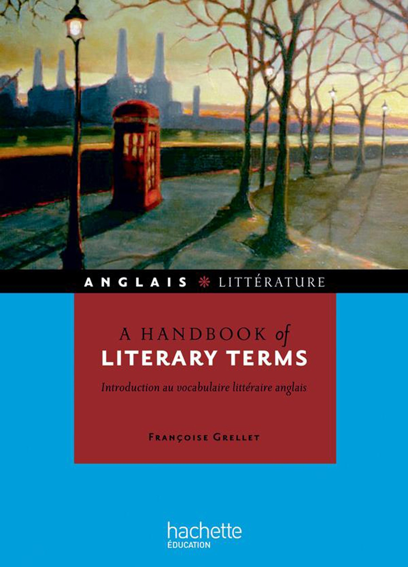 Literary Terms Book