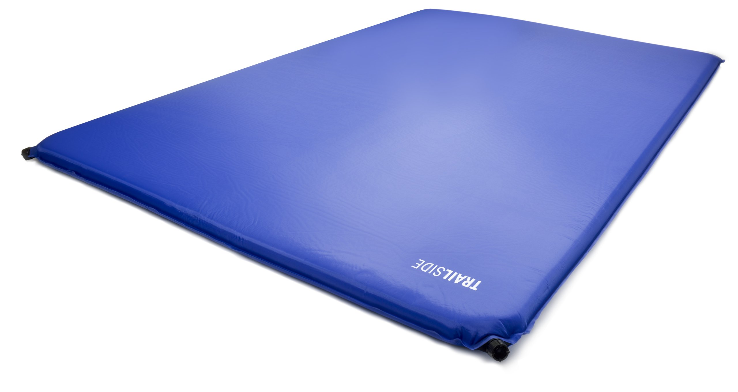 Trailside TrailRest Double-Wide Self-Inflating Mattress, 72x48x2-Inch/Large