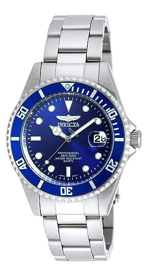Invicta 9204OB Pro Diver Reloj Unisex acero inoxidable Cuarzo Esfera azul: Amazon.es: Relojes