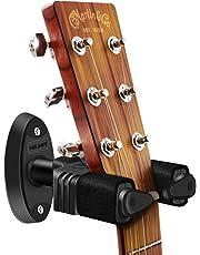NEUMA Wall Mount Guitar Hanger, Auto Lock Display Hook Holder Guitar Stand for Guitars/Bass/Banjo/Mandolin
