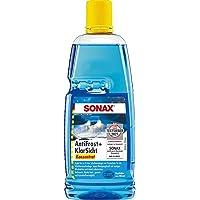 Sonax AntiFrost&KlarSicht concentraat (1 liter) levert tot 3 liter winterruitenvloeistof, direct klaar om te mengen…