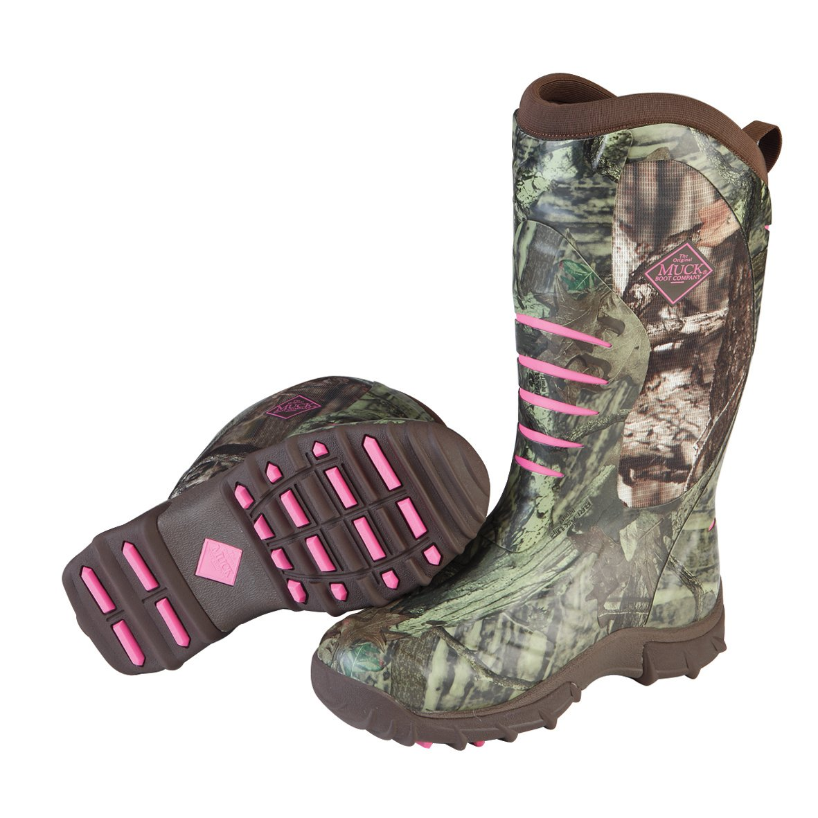 Muck Boot Womens Pursuit Stealth Hunting Shoes, Realtree/Pink, 8 US/8-8.5 M US by Muck Boot