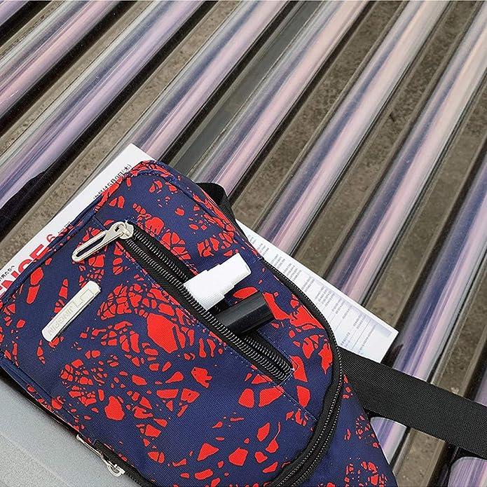 Amazon.com: Nayi - Bolso bandolera unisex con textura de ...