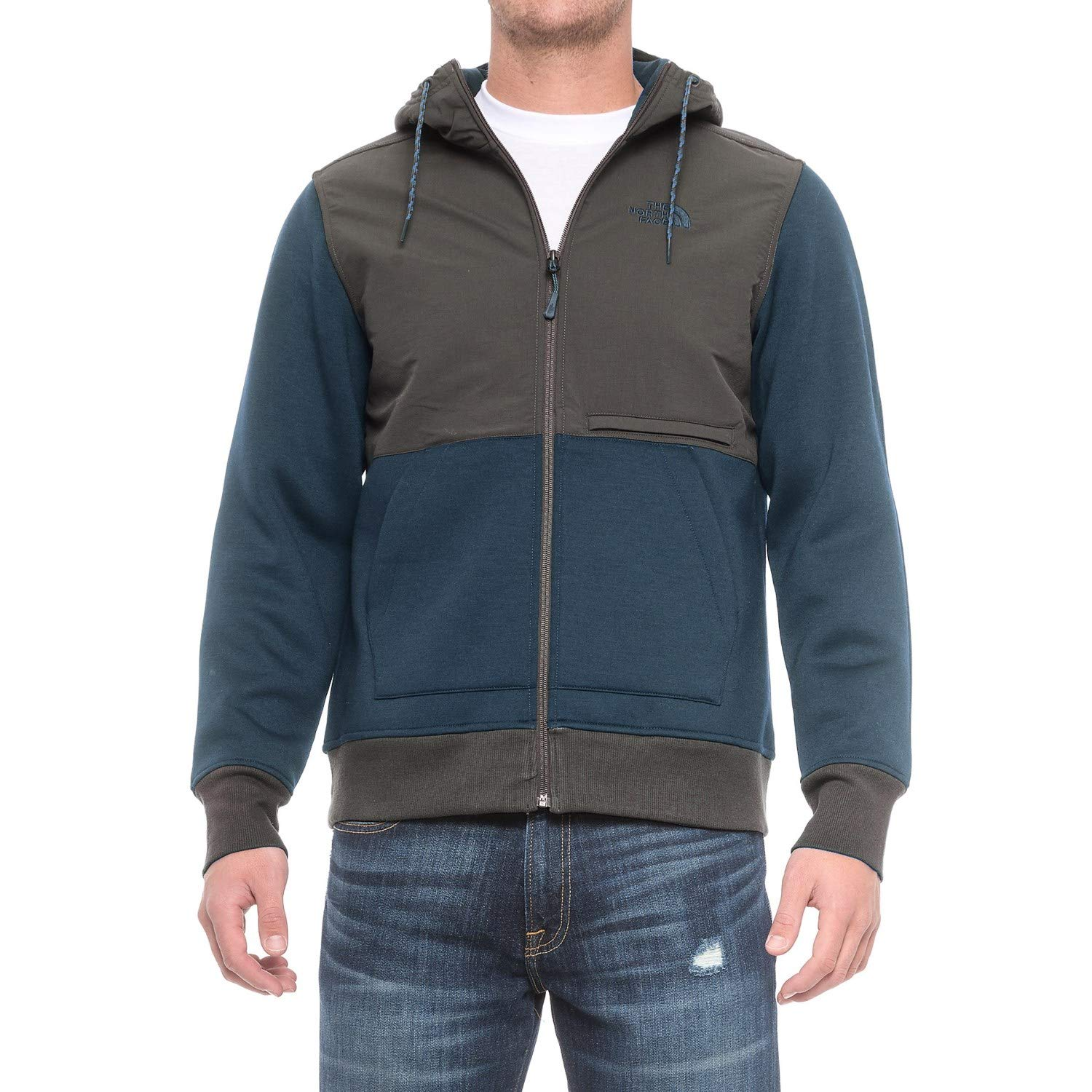 3cbd5527d THE NORTH FACE Men's Blocked Thermal 3D Jacket (Small, Shady Blue ...