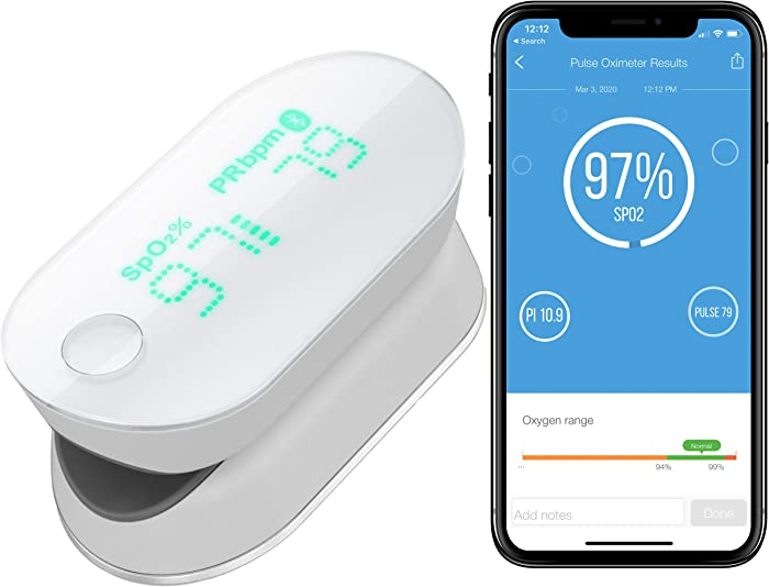 Top 9 Home Pulse Oximeter Bluetooth