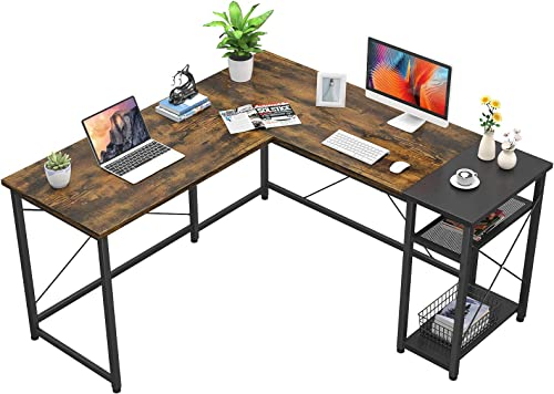 Foxemart L-Shaped Computer Desk