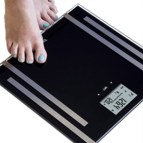 Amazon.com: Taylor Bluetooth Smart de grasa corporal escala ...