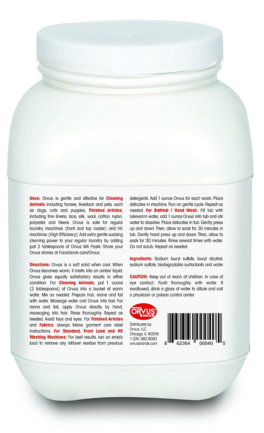 amazon orvus industrial paste com scientific cleaner wa dp ounce soap quilt