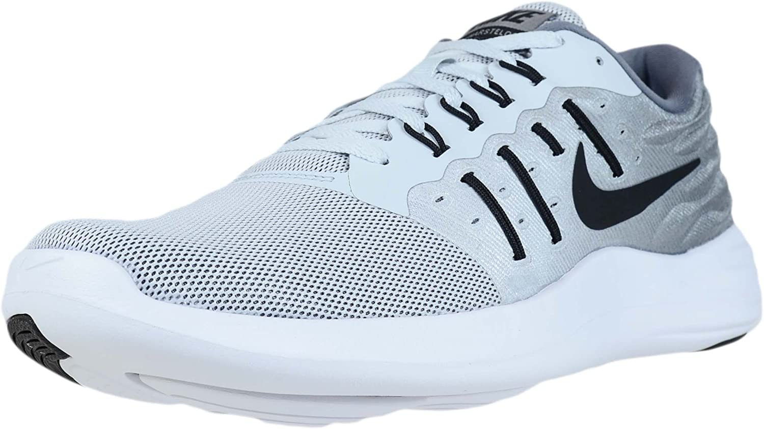 Nike Mens Lunarstelos Low Top Lace Up Running Sneaker