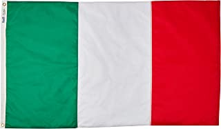 product image for Annin Flagmakers Model 193997 Italy Flag 3x5 ft. Nylon SolarGuard Nyl-Glo 100% Made in USA to Official United Nations Design Specifications.